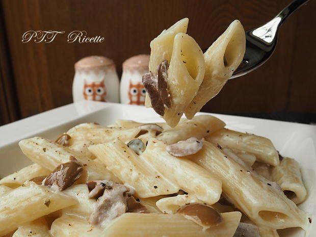 Pasta Philadelphia e olive, semplice e veloce da preparare. #primopiatto #pasta #penne #philadelphia #olive #ricetta #recipe #italianfood #italianrecipe #PTTRicette