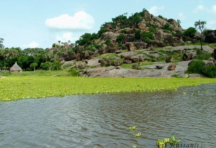 Marra Mountain in South Darfor- Sudan..