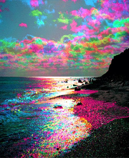 This picture reminds me of the colors I saw in the healing yesterday.  Love and Light