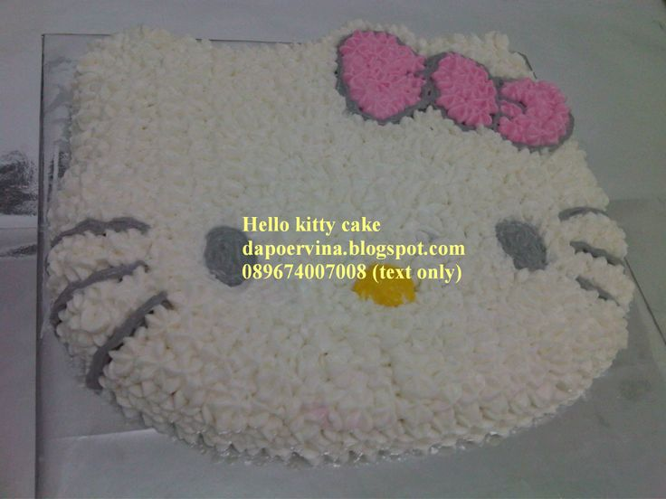 Hello Kity cake http://dapoervina.blogspot.com/2012/09/hello-kitty-rainbow-cake.html