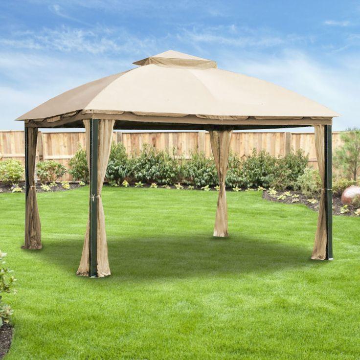 Replacement Canopy for Malibu Gazebo RipLock 350