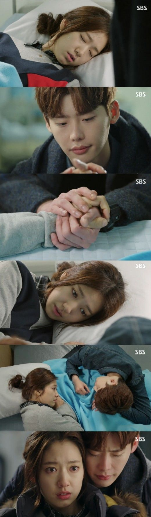 "'Pinocchio', Park Shin Hye, Lee Jong-seok affectionate towards touch ... ""heartbreaking love"": Naver News. Ep. 7"