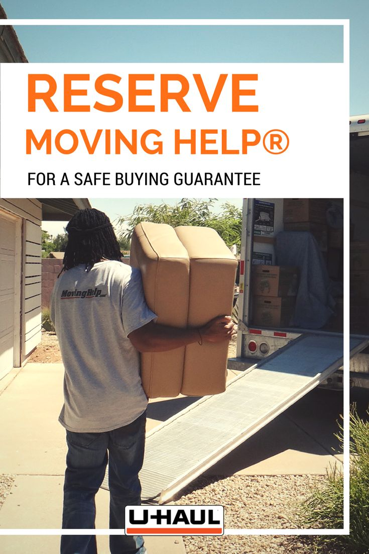 Reserve Moving Help® for a safe buying guarantee. Payment to your Moving Helper® is not authorized until your move is completed and you are completely satisfied. This allows you to remain in complete control of your move & keeps money in your pocket until your movers finish tasks to your level of satisfaction. I Planning for a Move