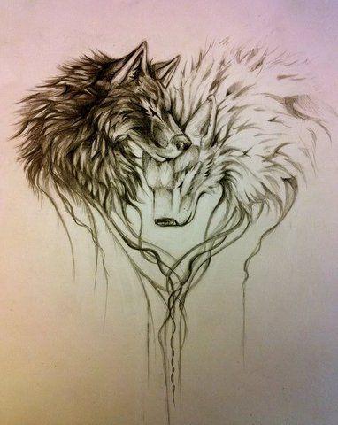Wolf Heart Photo by Bradicles | Photobucket