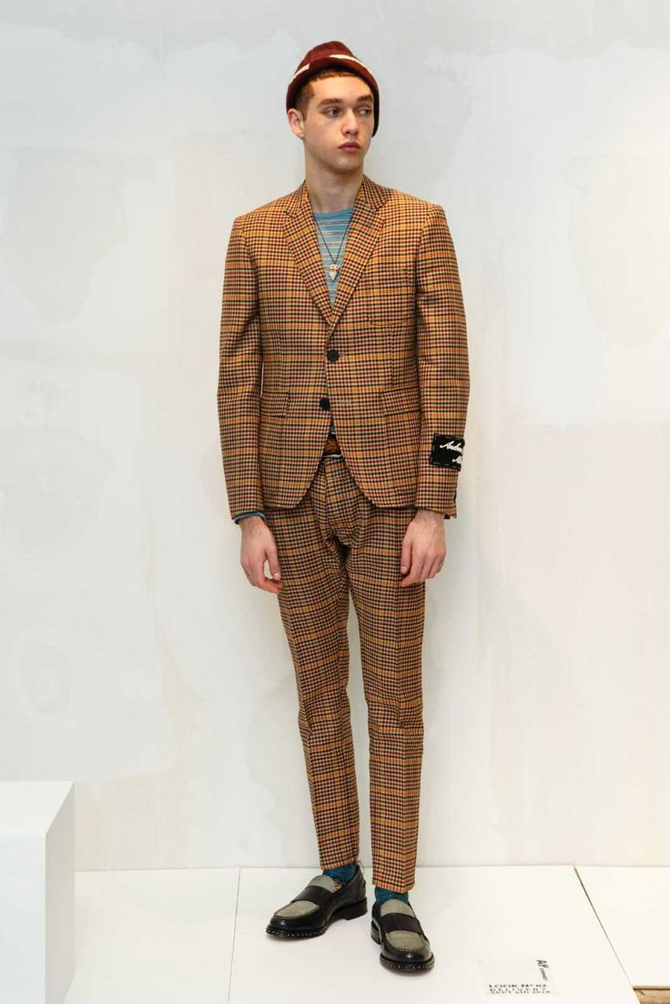 Male Fashion Trends: Andrea Pompilio Fall-Winter 2018-19 | Milan Fashion Week