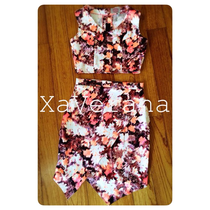 Pixxy top and skirt Available at instagram @xaverana