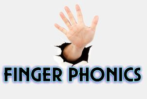 5 finger phonics - a one handed motion to go with each sound plus activities for each letter.