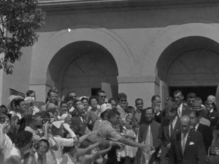 Still from the LAPD Video President Kennedy in Los Angeles, 1962