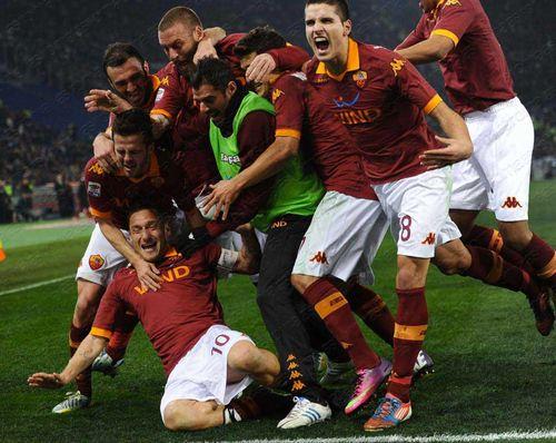 T O T T I, AS Roma