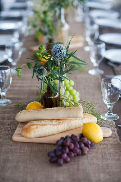 Rustic table: http://www.stylemepretty.com/colorado-weddings/steamboat/2015/02/19/romantic-meadow-wedding/ | Photography: Brinton Studios - http://brintonstudios.com/
