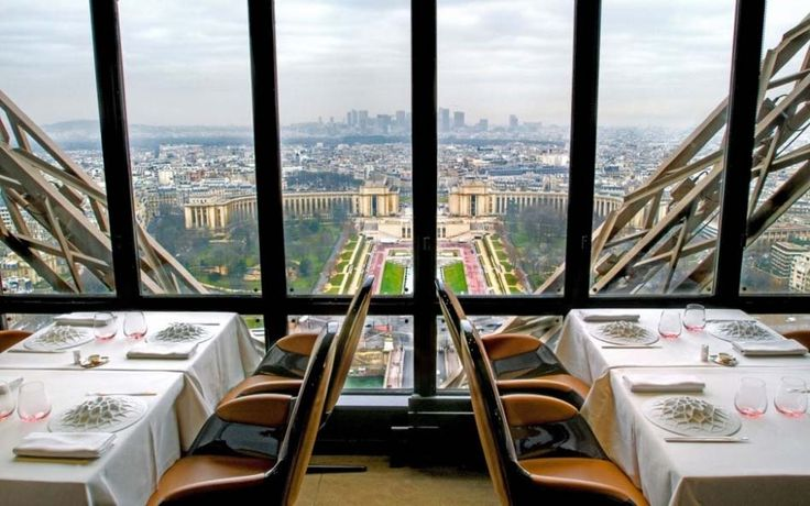 Restaurant Jules Verne - Paris - France