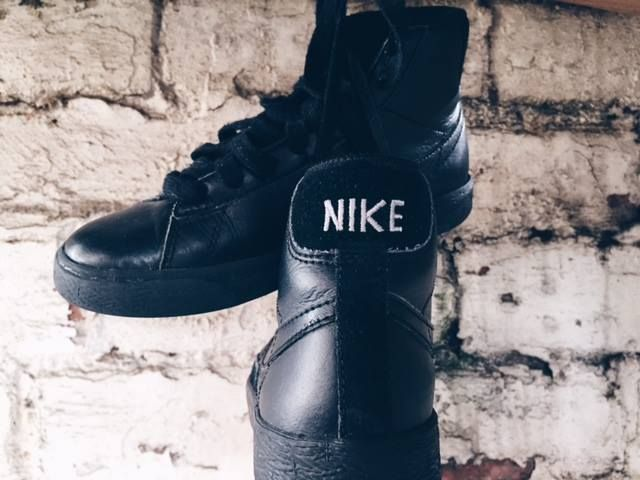 Those all Black Nikes #hawt www.storehousecharity.com