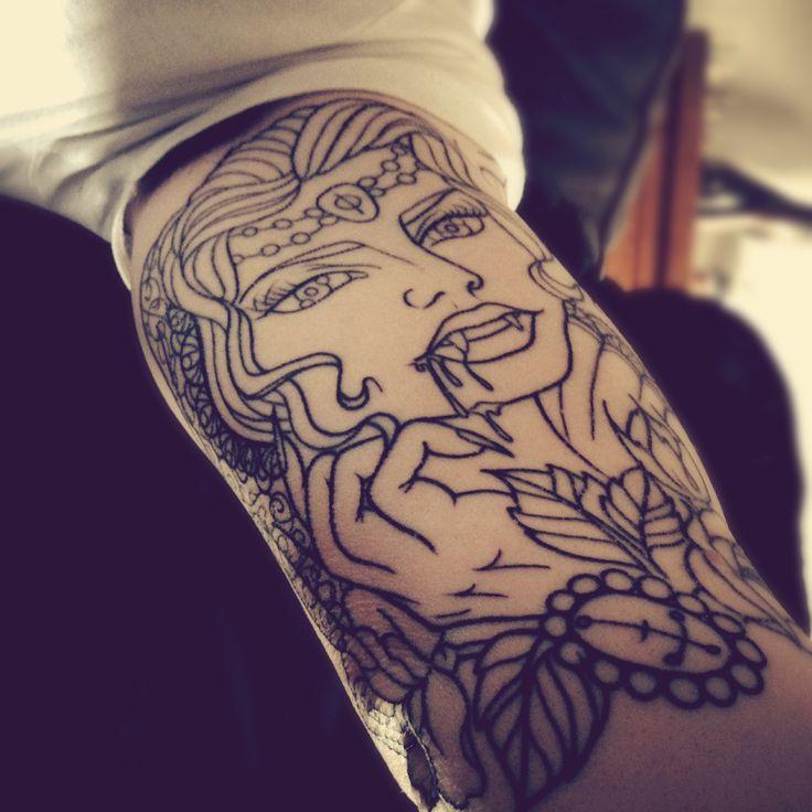 Best 20+ Vampire Tattoo Ideas On Pinterest