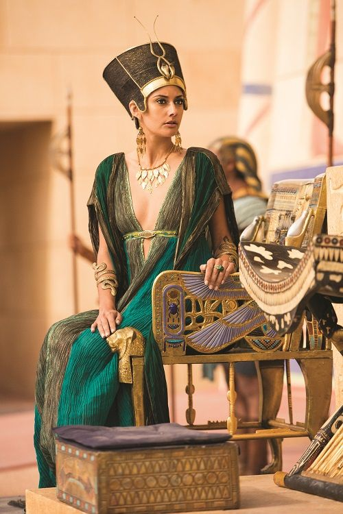 from Tut on Spike TV. The costumes and sets were great. That's about the best thing I can say about it.