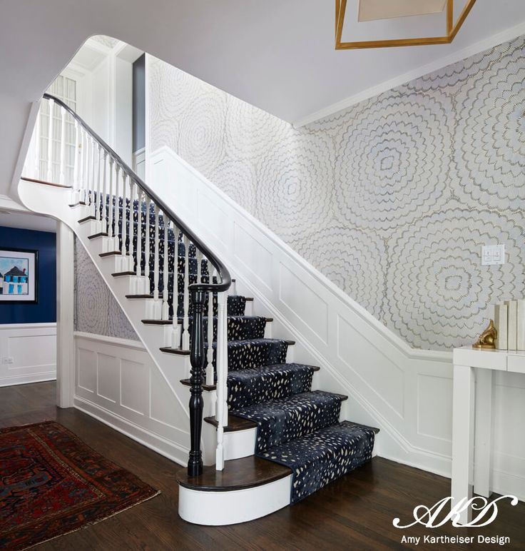 567 Best Staircase Ideas Images On Pinterest: Best 25+ Foyer Wallpaper Ideas On Pinterest