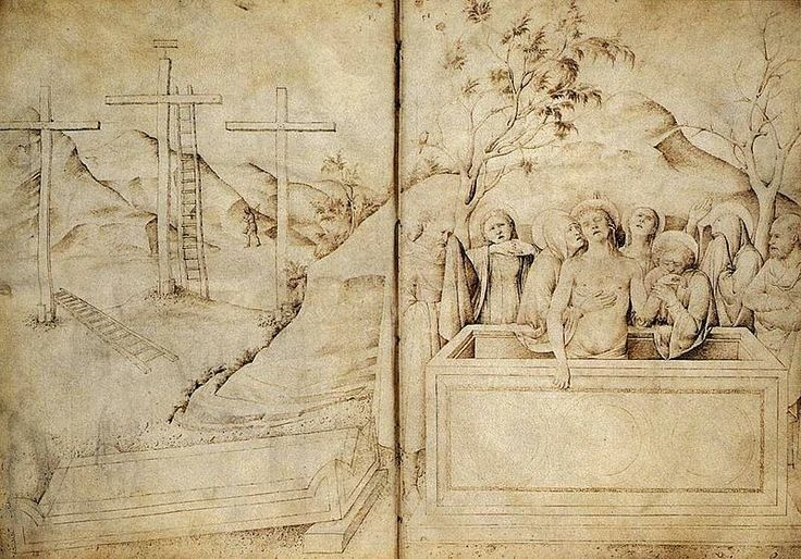 Dal libro di schizzi ora al British Museum.  1440