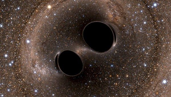 """Черные дыры, породившие гравитационные волны, оказались """"двойняшками"""""""