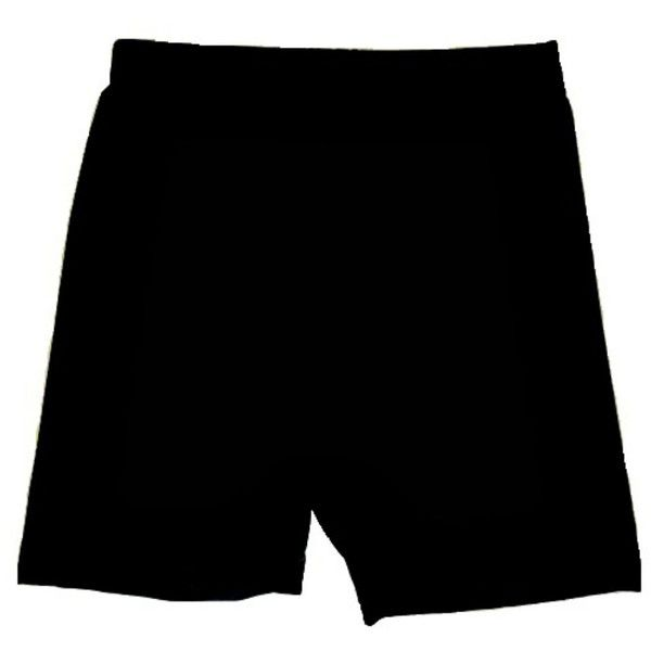 MarSea Modest Swim & Casualwear Swim & Biking Shorts ($36) ❤ liked on Polyvore featuring swimwear, black, rashguard swimwear, rash guard swimwear, swim swimwear and swim wear