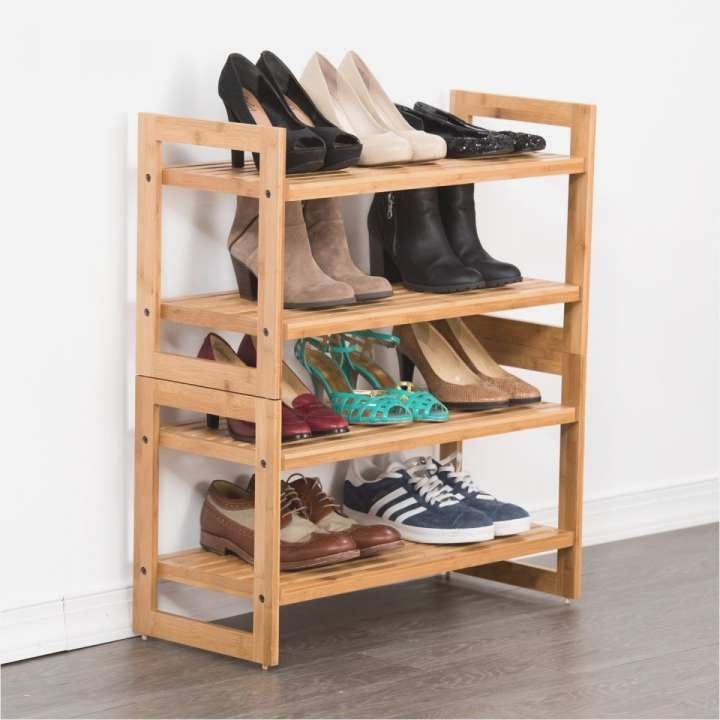 Decor Ideas Outdoor Shoe Rack Waterproof With Images Diy Shoe Storage Bamboo Shoe Rack Shoe Storage Small Space