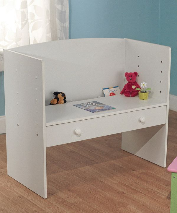 Look at this White Adjustable Desk on #zulily today!