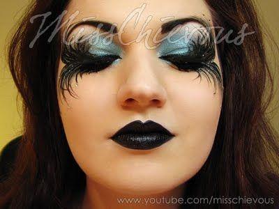 17 Best images about Makeup Morgue on Pinterest | Georgian ... Gothic Fairy Makeup Designs