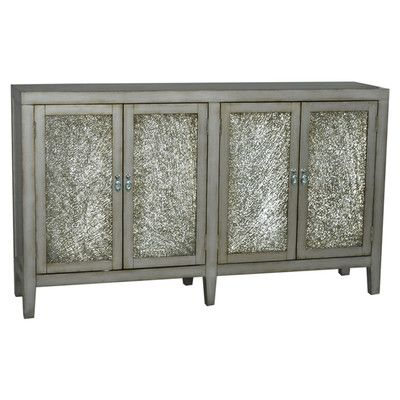 Pulaski Furniture  Living Room Credenza Metallic Golden