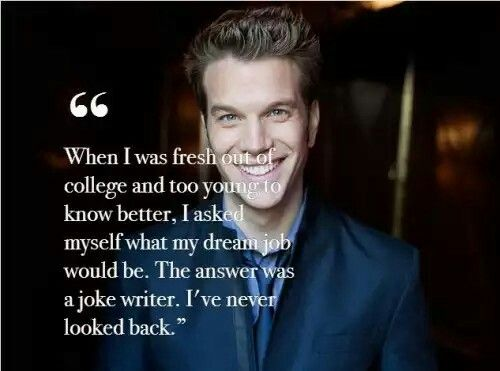 Anthony Jeselnik has one of the top 2 greatest smiles in the world