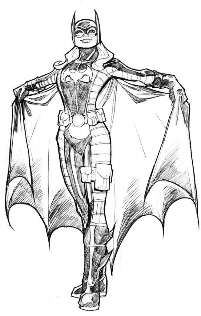 Cartoon Free Batgirl Coloring Pages 786x1024 Baseball Bat