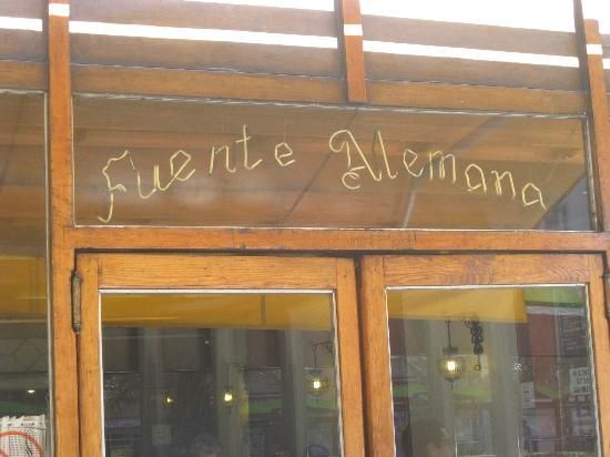 Cheap and fast sandwiches, Fuente Alemana