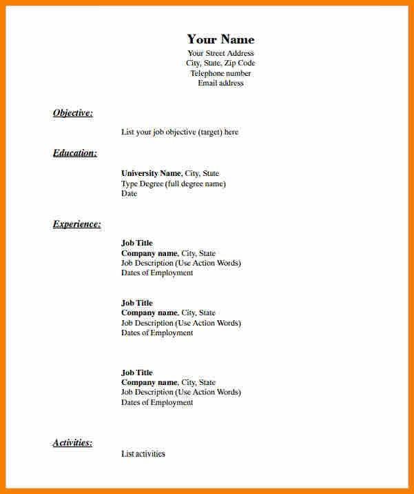 Best 25+ Resume format examples ideas on Pinterest Resume ideas - resume types formats