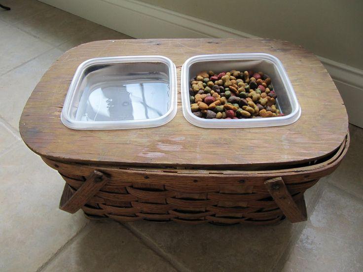 best 25 dog dishes ideas on pinterest dog feeder raised dog feeder and pet dishes and decor. Black Bedroom Furniture Sets. Home Design Ideas