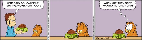 Garfield for 9/25/2017