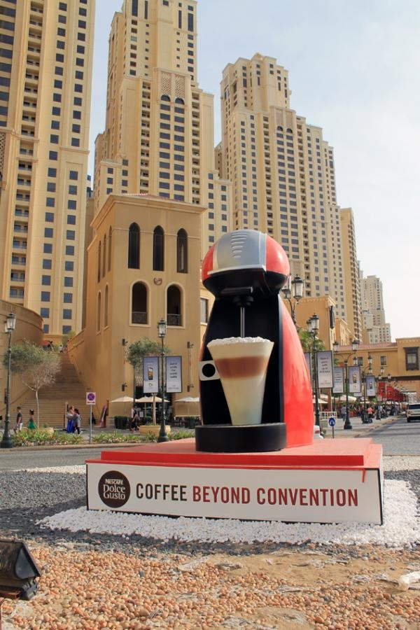 Imagine if this was real! Nescafe Dolce Gusto, Coffee Beyond Convention