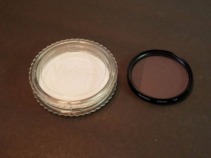 Vivitar Tamron 1A Skylight Filter Case Japan Camera Lens Slim Frame Lense 58mm #Tamron