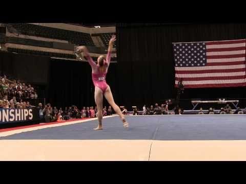 Maggie Nichols – Floor Exercise – 2015 P&G Championships – Sr. Women Day 1
