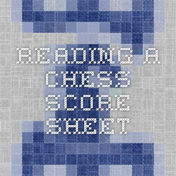 22 best Unique Chess Sets images on Pinterest Chess games, Chess - chess score sheet