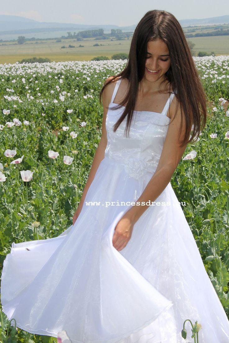 White Girl Dress. Sandy Grease Inspired Dress