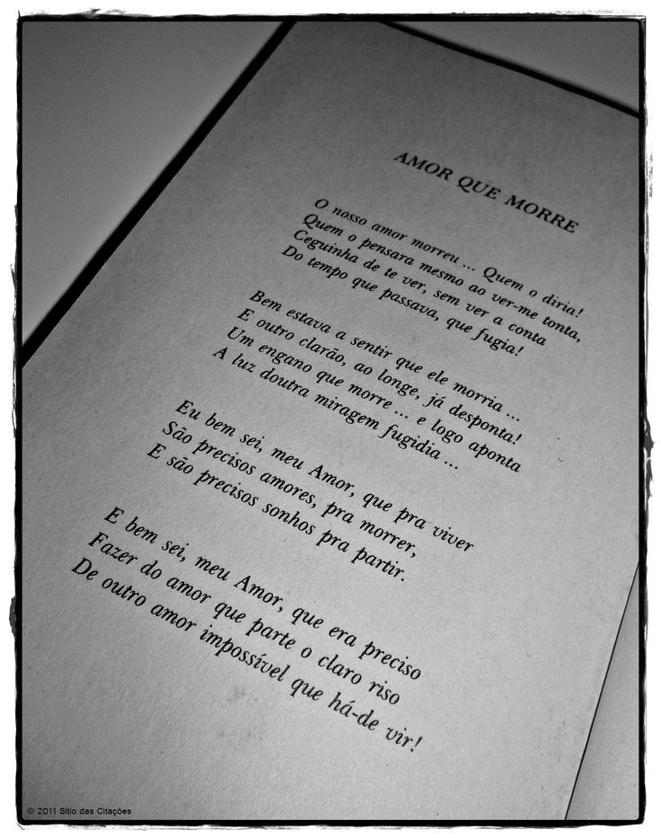 Florbela Espanca - Amor que morre