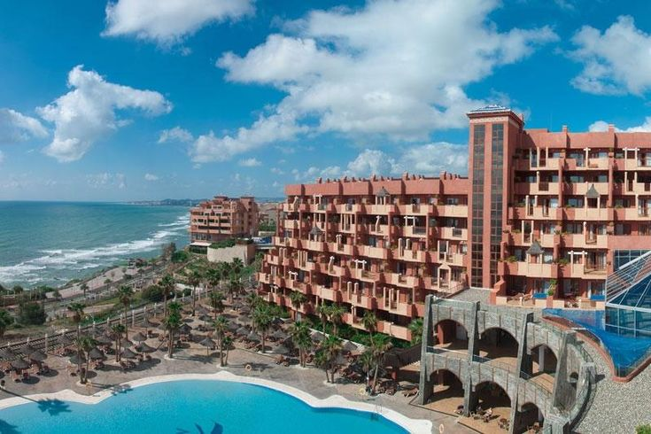 Pool and Sea View at Holiday Polynesia Hotel