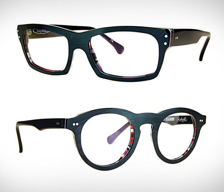 So cool!! Eyeglasses handmade in Budapest from upcycled vinyl records!  Comes with case d307477656