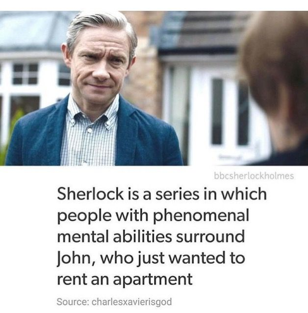 John just wanted to rent an apartment ☺ - this made me laugh out loud