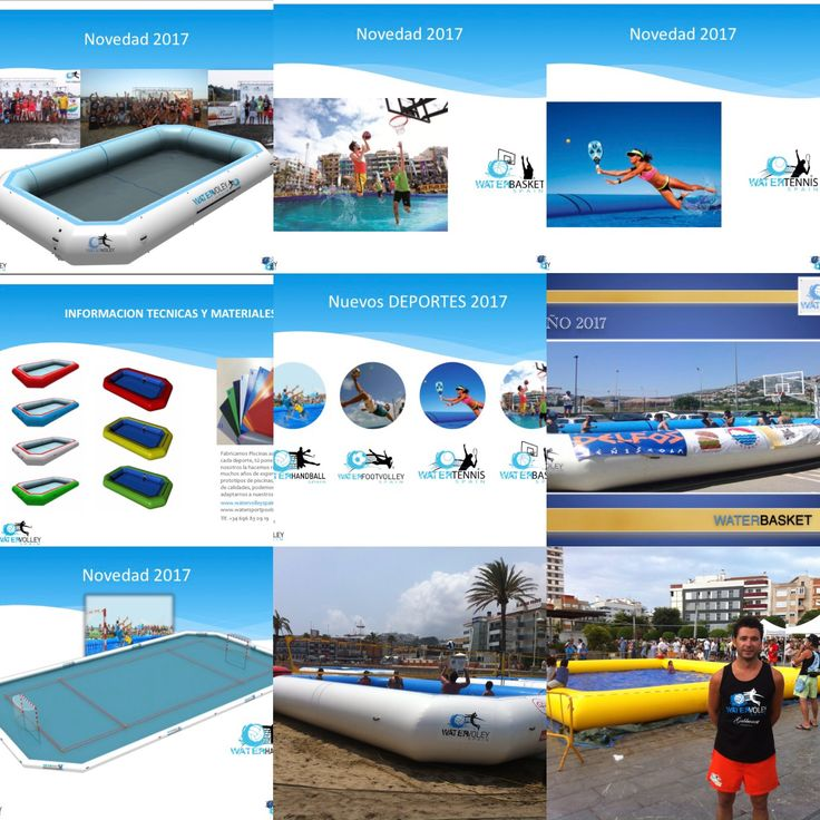 Design and manufacture all kinds of sports pools, an idea a project. Rent or purchase our sports pools. Some of our models of 2015, 2016, 2017, and in 2018 will come the new models adapted to different sports, a project that we want to make known in different countries, interested to contact us. #torneovoley #funy #watervolleyballchamps #watervolleyspain #watervolleyball #resort #investors #sports #sportpool #vb #beachvoley #voley #rentpool #salespool