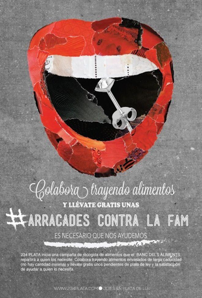 #arracadescontralafam, una iniciativa solidaria para el Banco de Alimentos