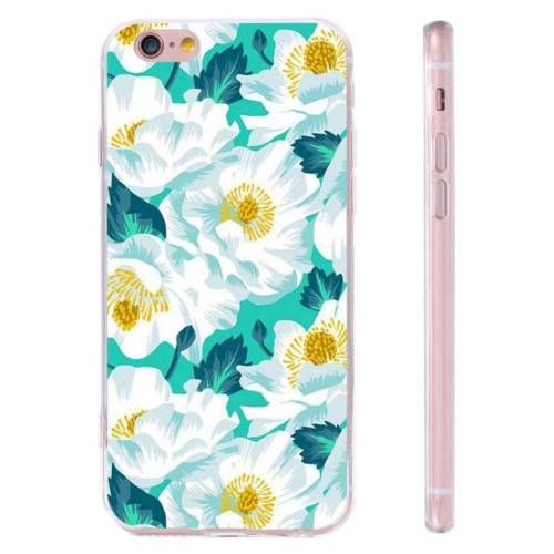 Hibiscus-TPU-Pattern-Soft-Silicone-Gel-Case-Cover-For-iPhone-Samsung-Huawei-LG