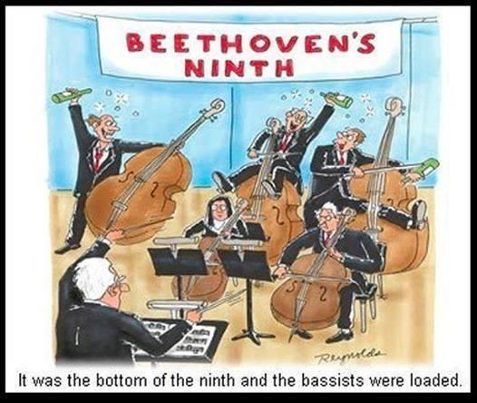 Orchestra humor. I HAVE BEEN MAKING THIS JOKE IN MY HEAD SINCE I WAS A CHILD