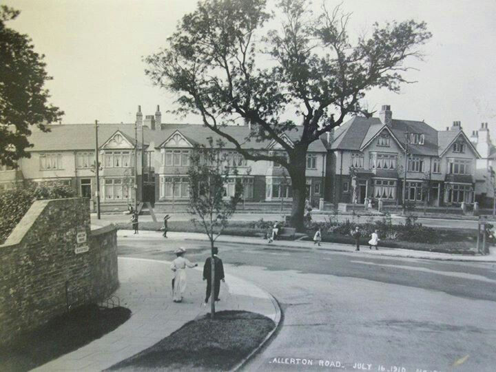 Allerton road 1910