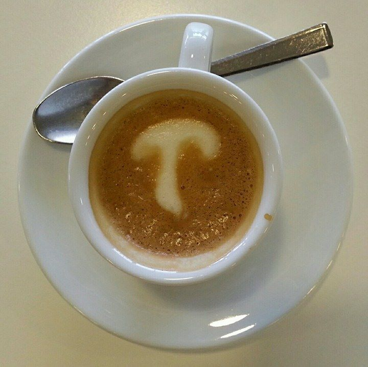 Am comandat o cafea si supriza, si aici ciuperci. Si italienilor tot le plac ciupercile ;) #Delmark #Ciuperci #Mushrooms #PozeDelmark #Italy