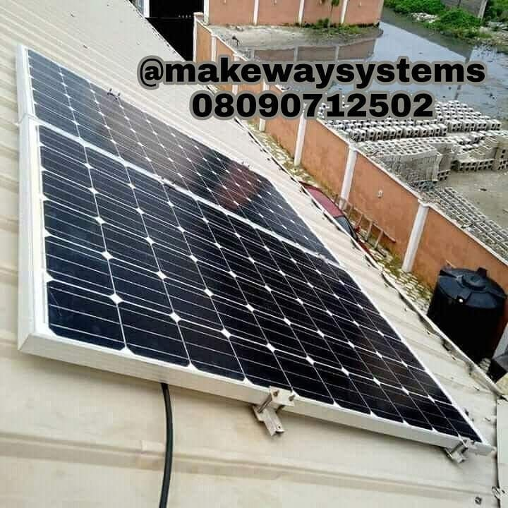 500w Solar Panel 400ahr Battery 1 5kva Inverter Other Accessoriesinstallation Cost 480000 Sufficient To Last The Whole Solar Panel Cost Solar Panels Solar