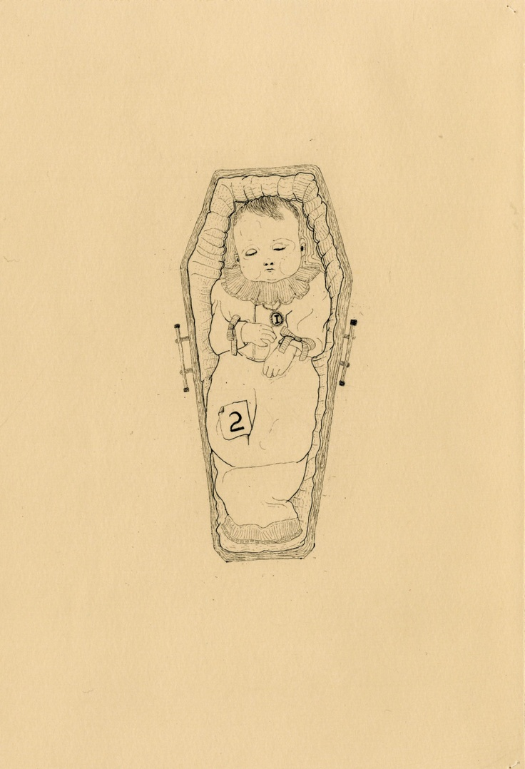 The Hüberman Children and Rabbit (plate four) // copper etching // Eleanor Phillips