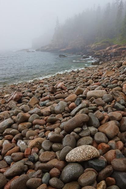 Boulder Beach - Acadia
